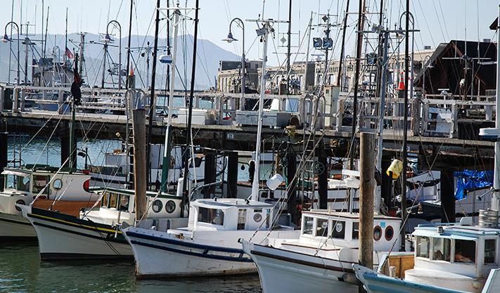 Fisherman's Wharf Monterey at california