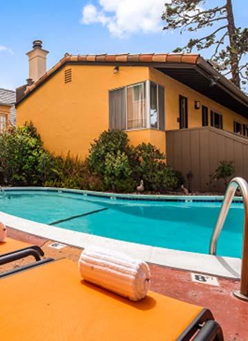 Seasonal Heated Pool in Hotel California